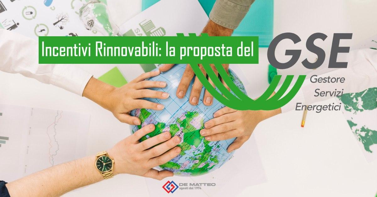 Incentivi Rinnovabili GSE