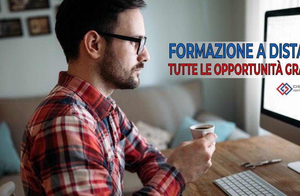 Opportunità di formazione gratuita da remoto